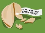 You just ate poison t-shirt